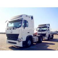 Buy cheap Howo A7 420 hp Engine and Two Sleepers Tractor Head Trucks Right Hand Driving from wholesalers