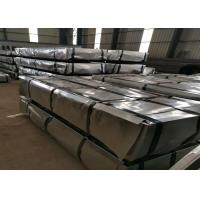 Buy cheap Standard JIS G3312 Pre Painted Sheet Metal , Pre Painted Gi Sheet 0.2-1.0mm Thickness product