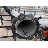 China Electric Pipe Angle Split Frame 11r/Min Portable Chamfering Machine on sale