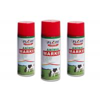 Buy cheap Harmless Colorful Animal Safe Spray Paint Distinguish Between Sheep / Pig / Cattle product