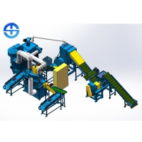 Buy cheap PLC Dry type 600 Kg/H Copper Wire Recycling Machine product