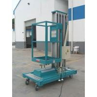 Buy cheap Electric industrial Sole Mast Mobile Aerial Work Platform with 9 Metres product