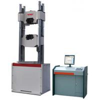 Buy cheap 2000kn Hydraulic Pressure Testing Machine 60mm / Min Max Piston Moving Speed product