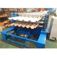 Buy cheap Dual Level Sheet Metal Roofing Machine , Double Level Metal Roll Forming Machine product