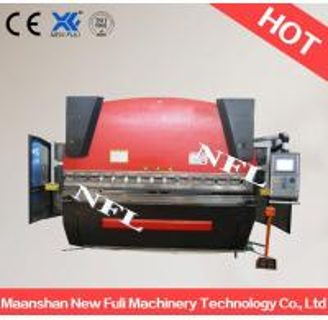 Buy cheap WC67K-63t/4000 CNC press break, Hydraulic press break, Hydraulic NC press break machine product
