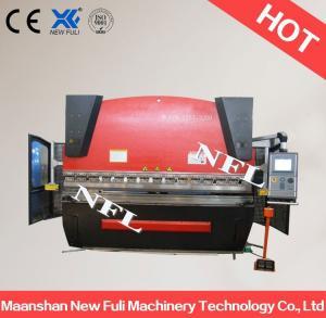 Buy cheap WC67K-80t/3200 CNC press break, Hydraulic press break, Hydraulic NC press break machine product
