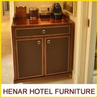 Buy cheap Wooden 5 Star Hotel Room Furniture Refrigerator Cabinet / Mahogany Fridge Cabinet product