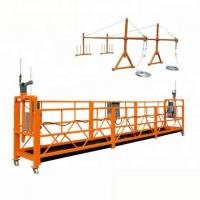 Buy cheap Electric Movable Suspended Working Platform / Window Cleaning Platform 300m product
