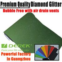 Buy cheap Brilliant Diamond Sanding Glitter Vinyl -- Sparkle Wrap Army Green product