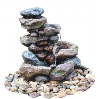 Buy cheap Decorative Tower Hand Cast Rock Water Fountains OEM Acceptable product