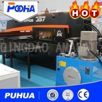 Buy cheap Open Type CNC Hydraulic Punch Press , Hydraulic Forging Machine With SIEMENS 802D SL Control System product
