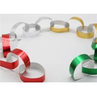 Buy cheap Handy Gummed Wedding Paper Chains Multi Color Available Eco - Friendly Material product
