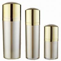 Buy cheap Cosmetic Acrylic Bottles for Skin Care Cream, Various Colors are Available, OEM Orders are Welcome product