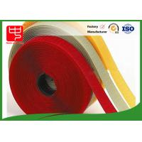 10mm - 180mm Hook And Loop Tape For Sewing , White 100% Eco - Friendly