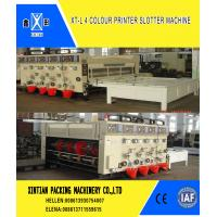 Buy cheap Manual Feeding Carton Making Machine / Paper Carton Printing Machine Witn from wholesalers
