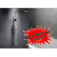 Buy cheap Wall Mounted Shower System Kit ROVATE Floor Stand Faucets Featuring ROVATE product