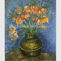 Buy cheap Van Gogh Oil Paint Fritillaries In A Copper Vase Masterpiece Replicas from wholesalers