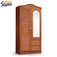 Buy cheap Custom Interior Wooden Louvered Doors Mirrored Front With MDF Board Materials product