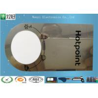 Buy cheap 0.15mm Mirror PC Membrane Switches Graphic Overlays With Silver Effect Silk Screen Print product
