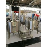 Buy cheap 200L Craft Commercial Micro Brewing Equipment For Brewpub Or Restaurant from wholesalers