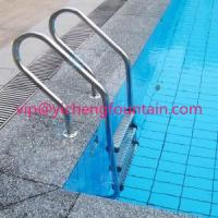 Buy cheap SS 304 Swimming Pool Accessories Ladders With Anti - Slip Steps / Safety Handrail product