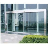 Buy cheap Remote Control Automatic Sliding Glass Doors with wood or stainless Steel Frame product