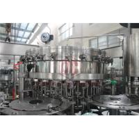 Buy cheap 2000 - 6000BPH Carbonated Drink Filling Machine Counter Pressure Soda Bottling Equipment product