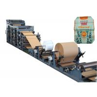 Buy cheap High Speed Valve Paper Bag Making Machine Automatic Tube Forming product