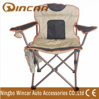 Buy cheap 600D Polyester cloth folding Outdoor Camping Chairs for big beach product