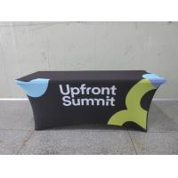 Buy cheap Full Printed Advertising Flag Banners Large Branded Table Cloth product