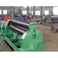 Buy cheap 50mm Thickness Plastic Auxiliary Equipment 3 Roller Steel Plate Roll Bending Machine Welding Steel Structure product