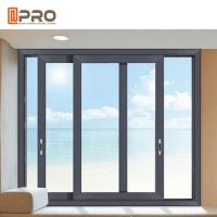 Buy cheap Double Low - E Glass Aluminium Sliding Windows With 10 Years Warranty product