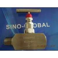 Buy cheap FNPT-MNPT  Stainless Steel Needle Valve T Lever Operated product