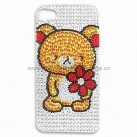 Buy cheap Rhinestone Tattoo Bling Sticker for Mobile Phone Decoration, Fashionable Design product