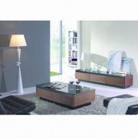 Buy cheap TV stand with MDF and high glossy painting product