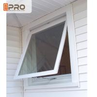 Buy cheap Double Glazing Aluminum Awning Windows / Top Hung Roof Window ISO9001 product