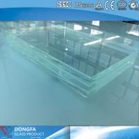 Buy cheap 15+15 high strength clear tempered laminated glass with CE certificate product