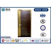 Decorative Fire Rated Wood Doors / Refuge Room 90 Minute Fire Rated Wood Doors