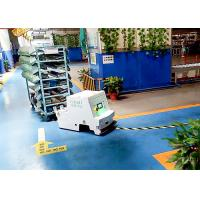 Buy cheap Customized Travel Speed Unidirectional Tugger AGV Cart Magnetic Stripe Guidance product