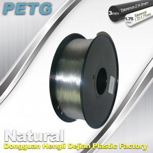 Buy cheap 1.75 / 3.0 mm PETG Filament 3D Printing Transparent Materials  1.0KG product