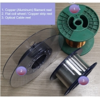 Buy cheap Twisted Glass and carbon yarns Copper Coating,Air-to-Air Continuous Sputtering Deposition Line product