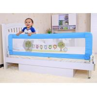 China Modern Blue Toddler Bed Rail Convertible Baby Bed Guard Rails on sale