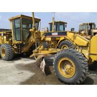 Buy cheap CAT 140H Used Motor Grader With Ripper , Second Hand Graders product
