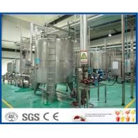 Buy cheap ISO SUS 304 Complete Fruit Juice Processing Line with Plastic / Glass Bottle Filling Machine product