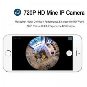 Quality EC5 720P Fisheye Panorama WIFI P2P IP Camera IR Night Vision CCTV DVR Wireless for sale