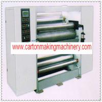 China single layer glue machine for corrugate cardboard production/carton box making machine on sale