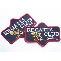 Buy cheap Popular jeans leather patch labels for clothing Custom Embroidery Patches product