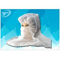 Buy cheap Balaclava Hood Disposable Face Mask Dustproof And Breathable product