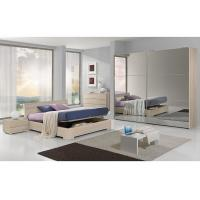 Buy cheap Full Mirror Sliding Wardrobe Free Standing Bedroom Furniture King Size For 5 Star Hotels product