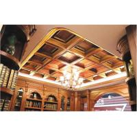 Buy cheap Tin Texture 3D Ceiling Tile European Style Wallpaper Light Weight and Eco friendly 600*600 mm product